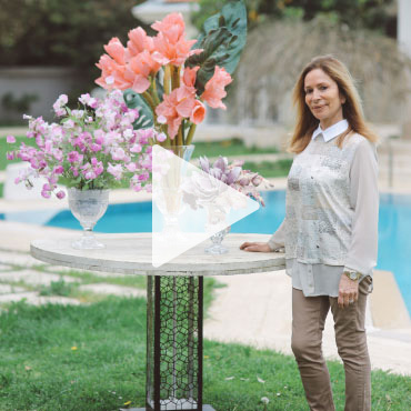 Tasarımcı Niki Kurt ile Çiçek ve Saksı Tasarımı