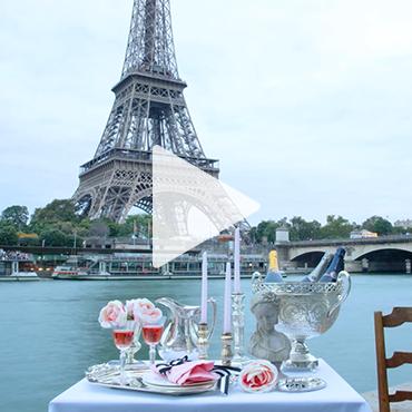 Gümüşün Işıltısı Paris'i Aydınlatıyor