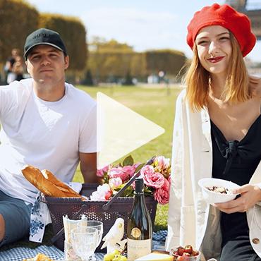 Eyfel'de Romantik Piknik