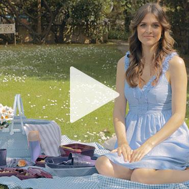 Ünlü Oyuncu Zeynep Özder'in şık, pratik ve sağlıklı Madame Coco ürünleriyle piknik keyfi!