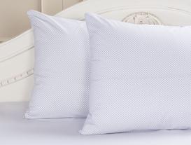 Restant 2'li Ranforce Yastık Kılıfı - Mavi / Beyaz