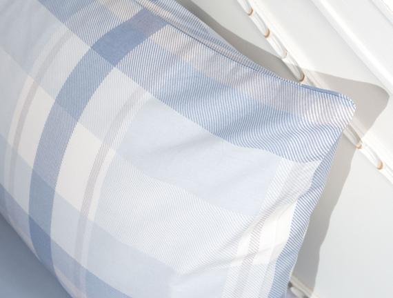 2'li Ranforce Yastık Kılıfı - Mavi / İndigo