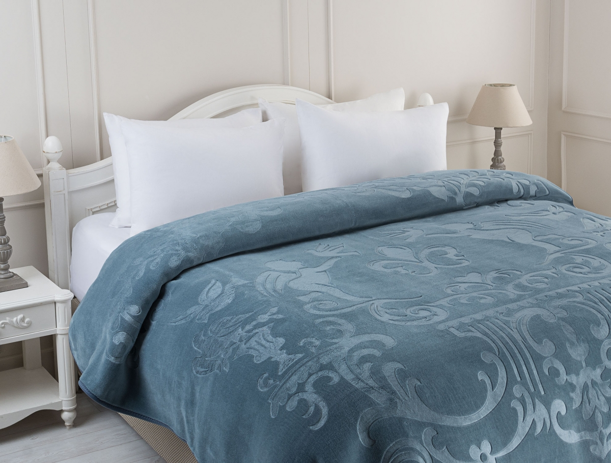 Anges Double Size Printed Blanket 2672881099626 Madame Coco