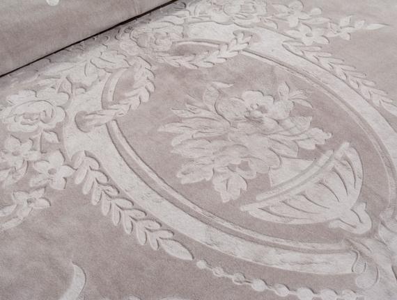 Fleurs Çift Kişilik Sıcak Baskılı Battaniye Taş