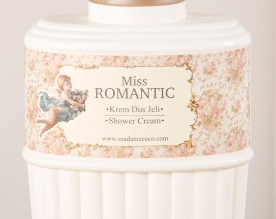 Melek Serisi Miss Romantic Duş Jeli 250ml