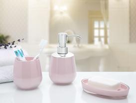 3lü Banyo Seti Pembe
