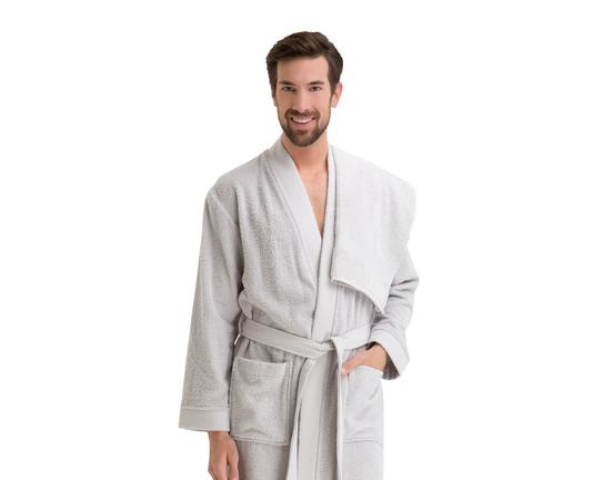 Erkek Kimono Bornoz Seti