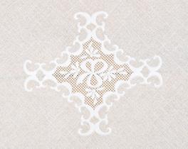Amerikan Servis Vinil Oval Beyaz 30x45cm