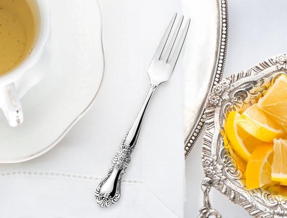 Flora 6'lı Limon Çatalı Seti