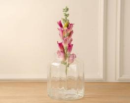 Dekoratif Yapay Çiçek Pembe Hezaren 39cm