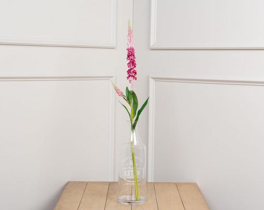 Dekoratif Yapay Çiçek - Pembe Adaçayı Çiçeği