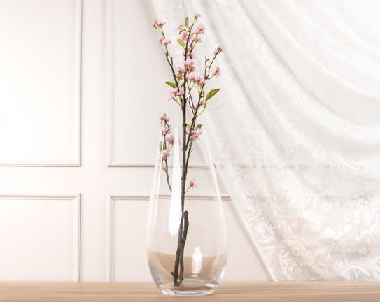 Dekoratif Yapay Çiçek Şeftali Çiçeği