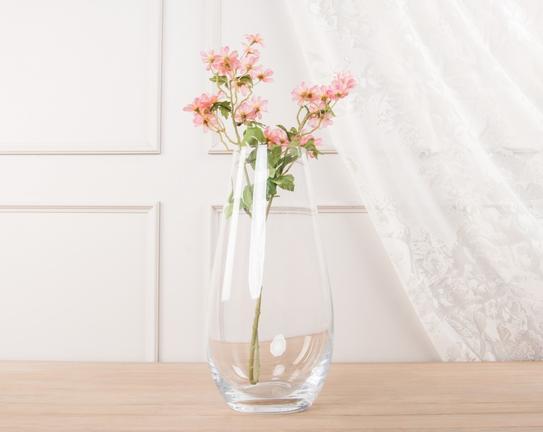 Dekoratif Yapay Çiçek Açık Pembe Papatya 64cm