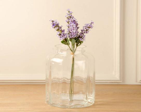 Dekoratif Yapay Çiçek Mor Lavanta 51cm