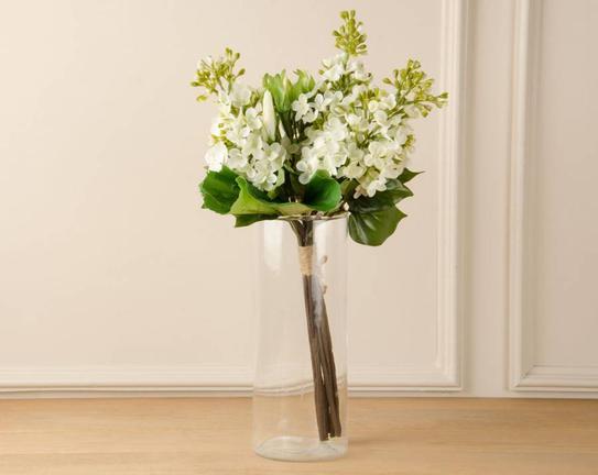 Dekoratif Yapay Çiçek - Beyaz Buket