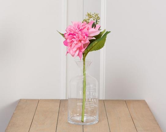 Dekoratif Yapay Çiçek Yıldız Çiçeği 30cm