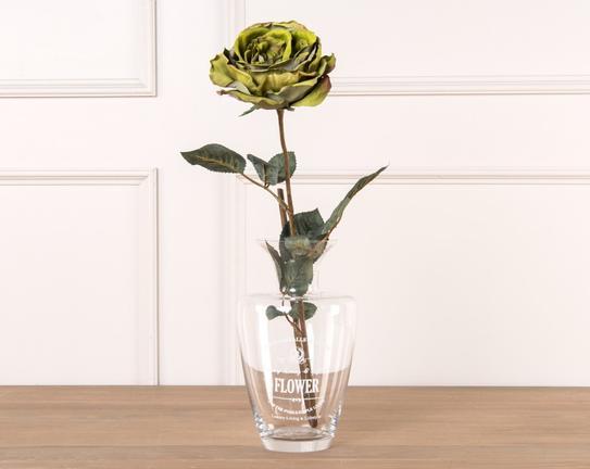 Dekoratif Yapay Çiçek Gül