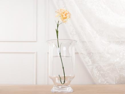 Dekoratif Yapay Çiçek - Ekru Karanfil