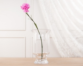 Dekoratif Yapay Çiçek Açık Pembe Karanfil 57cm