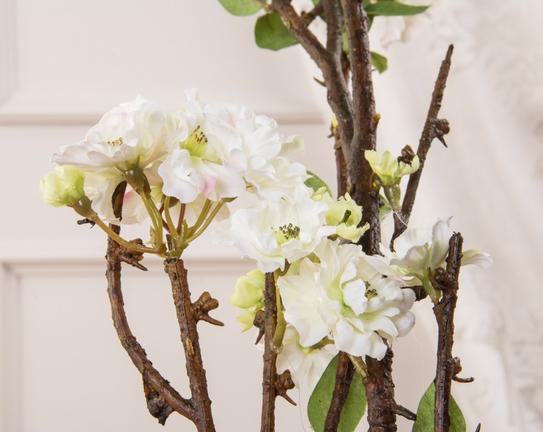 Dekoratif Yapay Çiçek Şeftali Çiçeği 108cm