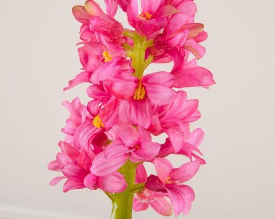 Dekoratif Yapay Çiçek - Pembe Sümbül