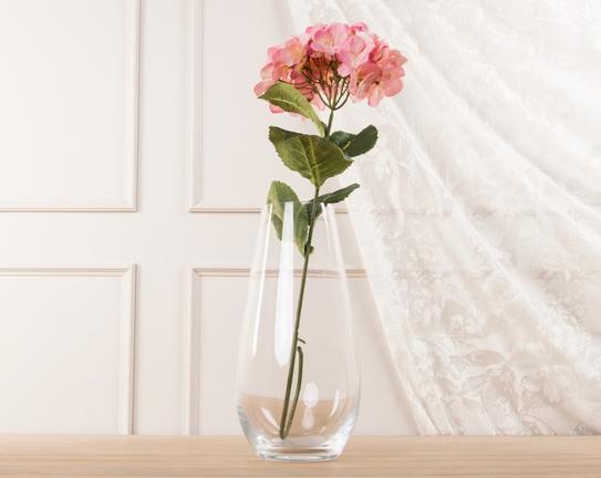 Dekoratif Yapay Çiçek Pembe Ortanca 72cm