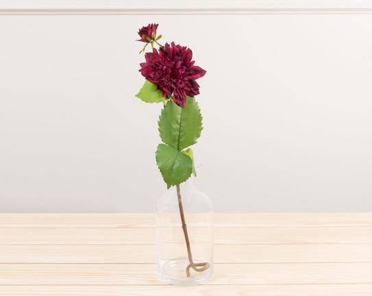 Dekoratif Yapay Çiçek Yıldız Çiçeği 51cm