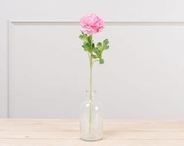Dekoratif Yapay Çiçek Pembe Düğün Çiçeği 51cm
