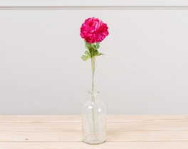 Dekoratif Yapay Çiçek Pembe Ortanca 51cm