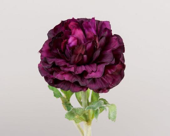 Dekoratif Yapay Çiçek - Mor Ortanca