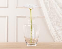 Dekoratif Yapay Çiçek Beyaz Gerbera 30cm
