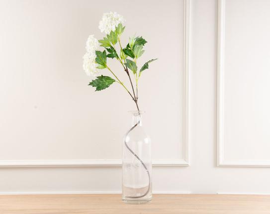 Dekoratif Yapay Çiçek Kartopu Çiçeği 81cm