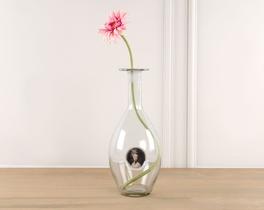 Dekoratif Yapay Çiçek Pembe Gerbera 52cm