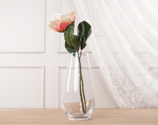 Dekoratif Yapay Çiçek - Açık Pembe Manolya