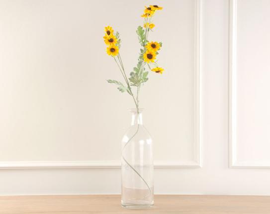 Dekoratif Yapay Çiçek Ayçiçeği 75cm