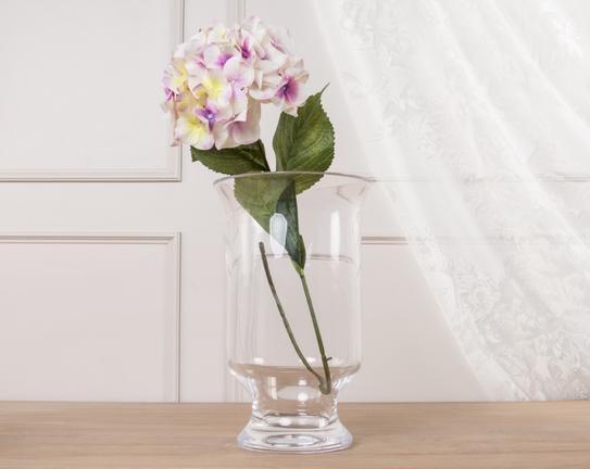 Dekoratif Yapay Çiçek Beyaz Ortanca 71cm