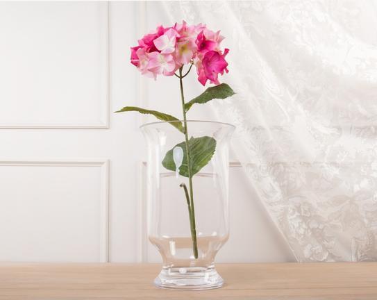 Dekoratif Yapay Çiçek Pembe Ortanca 71cm