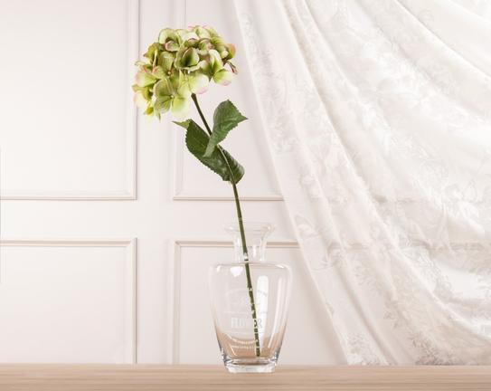 Dekoratif Yapay Çiçek Yeşil Ortanca 53cm