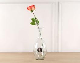 Dekoratif Yapay Çiçek Kırmızı Gül 59cm
