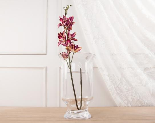 Dekoratif Yapay Çiçek Orkide 81cm