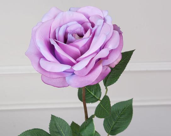Dekoratif Yapay Çiçek Gül 45cm