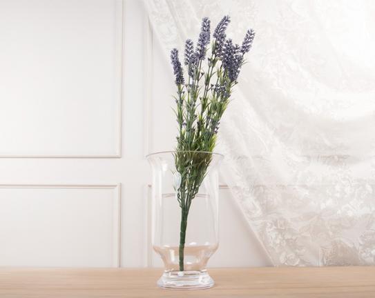 Dekoratif Yapay Çiçek Mor Lavanta 62cm