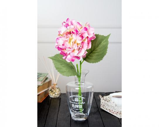 Dekoratif Yapay Çiçek Pembe Ortanca 91cm