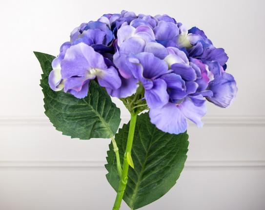 Dekoratif Yapay Çiçek Mor Ortanca 55cm