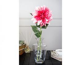 Dekoratif Yapay Çiçek - Pembe Yıldız Çiçeği