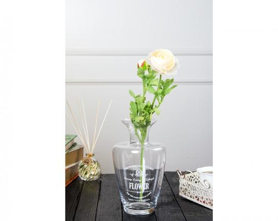 Dekoratif Yapay Çiçek Ekru Kamelya 81cm