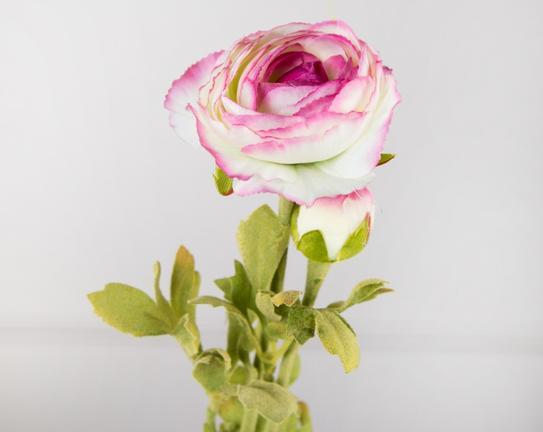 Dekoratif Yapay Çiçek Pembe Kamelya 81cm