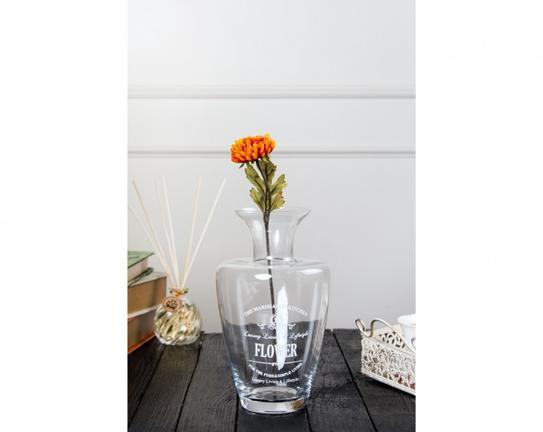 Dekoratif Yapay Çiçek Turuncu İlkbahar Çiçeği 51cm