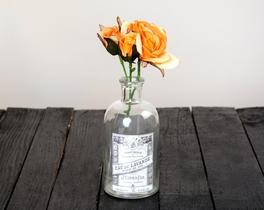 Dekoratif Yapay Çiçek - Turuncu Gül