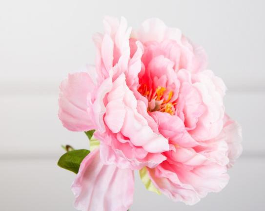 Dekoratif Yapay Çiçek Pembe Şakayık 99 cm